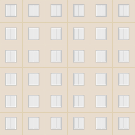 highrise: windows, city high-rise building seamless simple pattern