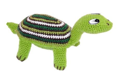 Soft toy - a turtle. Hand-made master of needlework
