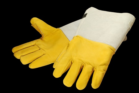 Special gloves for working in conditions of low temperatures Stock Photo - 11881906