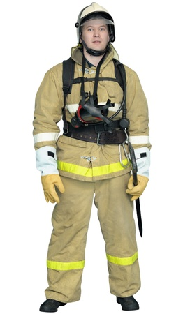 protective clothing: Bunker gear - system of outer protective clothing