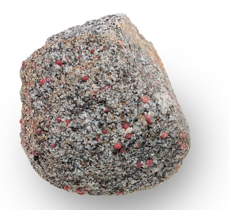 aggregates: Mineral specimen. Mineral aggregates composed of quartz and garnet. Sampling sites were noted in the file geotag