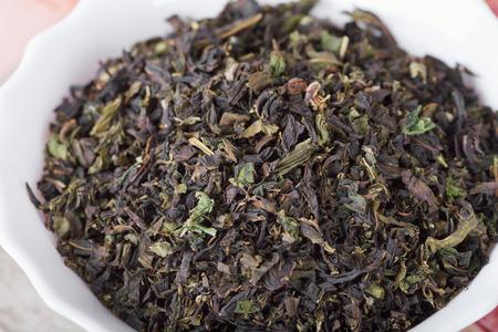 Koporye Tea - fermented leaves, stems and flowers Chamerion angustifolium Stock Photo