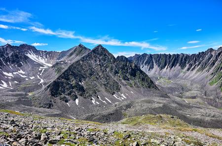 tunka range: Alpine highlands views . Tunka Ridge . Eastern Sayan . Buryatia . Russia