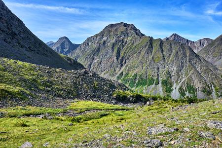 tunka range: Similar to Mammoth Mountain in the Eastern Siberia . Russia
