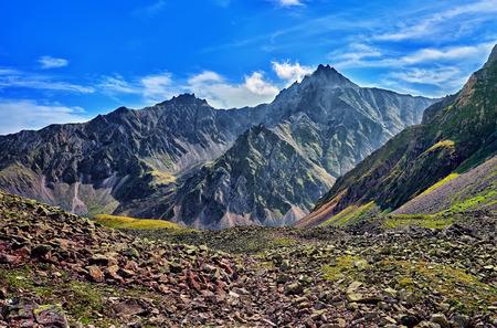 Highlands in Eastern Siberia. Tunka range. Sayan. Russia