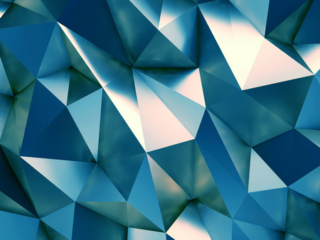 privilege: Blue Business Abstract Background 3D Rendering