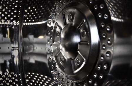 Washing machine drum background technology illustration