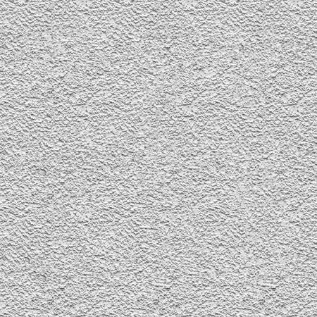 Clean white seamless concrete pebble-dash wall background texture