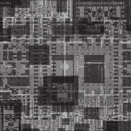 Carte de déplacement pour le rendu 3d. Illustration futuriste abstraite. Hauteur, carte de relief Banque d'images - 80925628