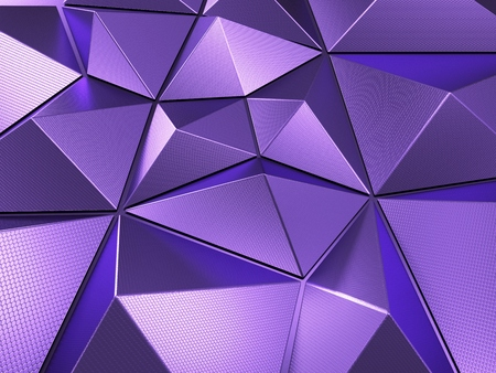 Purple Abstract Background 3D Rendering Фото со стока