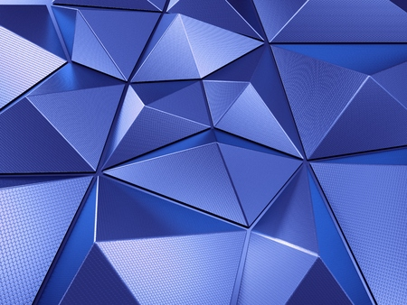 Blue Abstract Background 3D Rendering Фото со стока