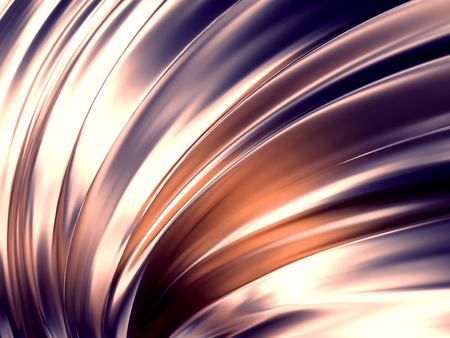 Wave Abstract Background 3D Rendering