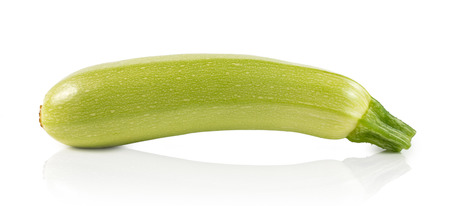 vegetable marrow: vegetable marrow (zucchini) isolated on white background