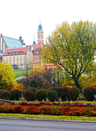 view of the old city in autumn. Warsaw. Poland Stock Photo - 11398144