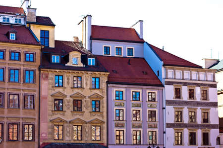 warsaw: Old Town . Warsaw, Poland.  Stock Photo