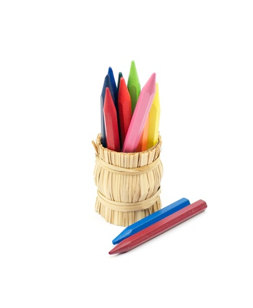 Rainbow Colored pencils Stock Photo - 12430497