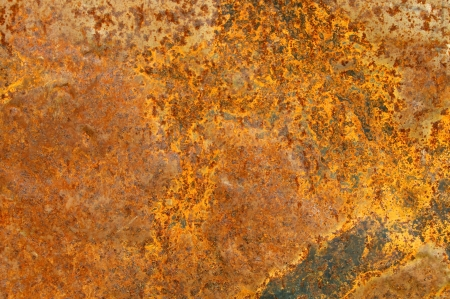 Copper rust texture closeup background photo
