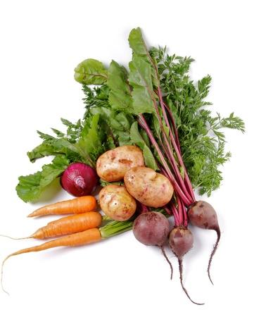 common market: Arrangement of Raw Organic Farmer