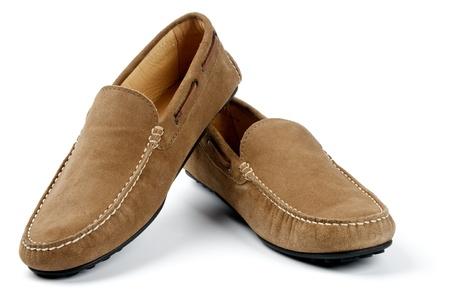moccasins: Chamois Leather Men