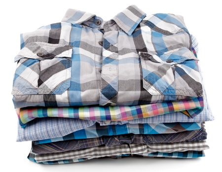 Stack of Various Plaid Men photo