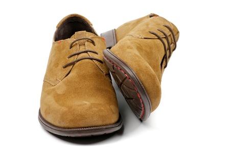 men s boot: Contemporary Men Stock Photo