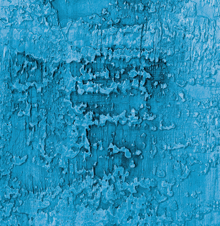 damaged cement: Blue and Grey Damaged Obsolete Cement Wall Background closeup