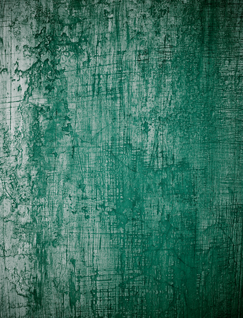 obsolete: Dark Green Obsolete Cement Wall Background closeup. Vertical View