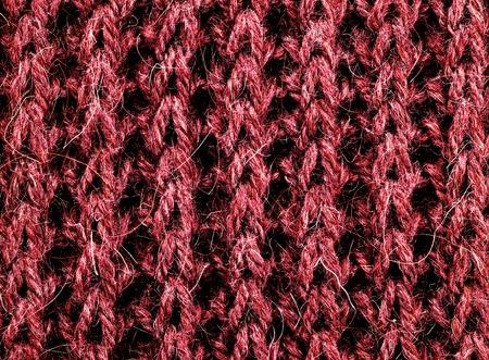 Pink Natural Woven Wool Background closeup Standard-Bild - 124962725