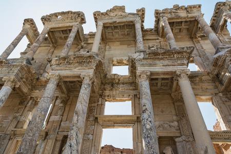 Celsus Library in Ephesus ancient city, Selcuk, Turkey