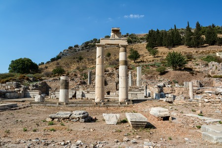 The Prytaneum in Ephesus ancient city, Selcuk, Turkey