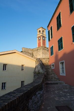 The Old Venetian Fortress in Kerkyra, Corfu island, Greece Stock Photo