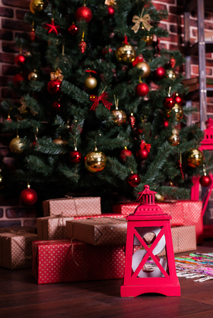 sorcery: A lot of Christmas gifts under the tree