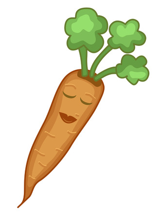 carotene: Lady carrot