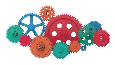Metallic gears and cogs