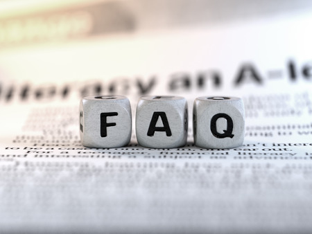 FAQ concept, Frequently Asked Questions