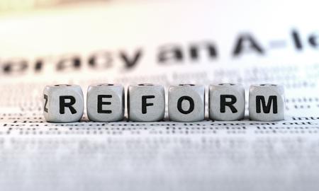 Reform concept.conceptual image. Foto de archivo