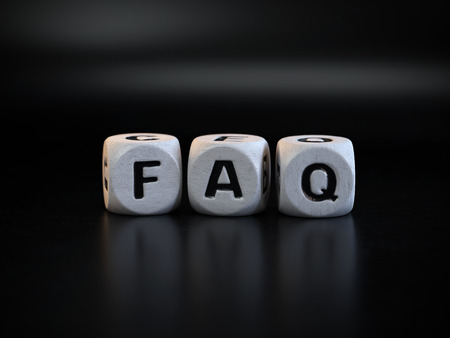 FAQ concept, Frequently Asked Questions, conceptual image.