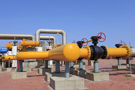 gas supply: Oil pipeline