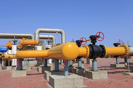 gas pipe: Oil pipeline