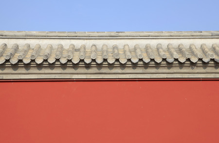 workmanship: The ancient Chinese building walls?exquisite workmanship