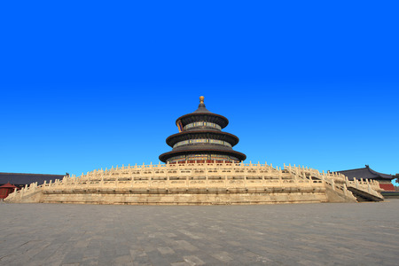 The temple of heaven in Beijing QiNianDianthe at China