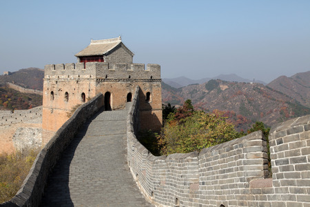 The Great Wall of China, it is very magnificent photo