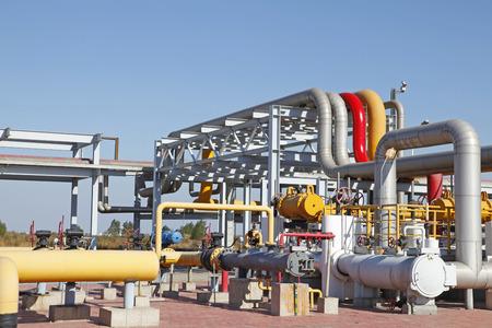 Oil pipeline photo