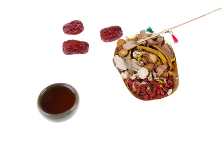 curative: Traditional Chinese medicine, the curative effect is very good, close-up Stock Photo