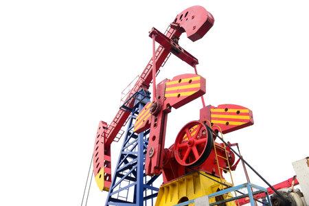 mechanical works: Beam pumping unit