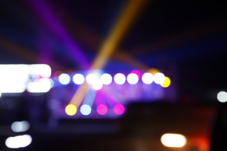 stage lighting: The stage lighting, bokeh