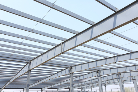 The steel structure Standard-Bild