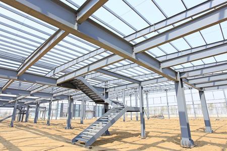struktur: Den stålkonstruktion