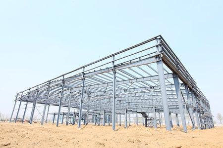Die Stahlkonstruktion Standard-Bild - 44746265