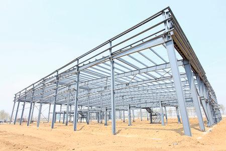 Die Stahlkonstruktion Standard-Bild - 44746269